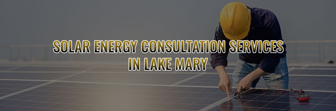 Solar Energy Consultation Services In Lake Mary