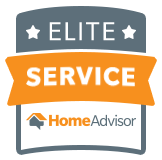 HomeAdvisor Elite Service Award - Archangel Alarm Services