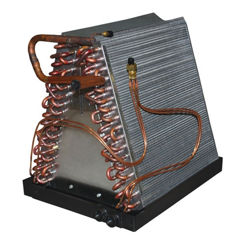 Typical evaporator coil