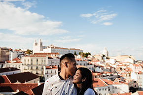 Elopement Photography Lisbon by PicVoyage