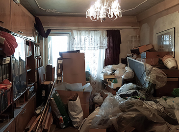 Hoarding Cleanup Mission
