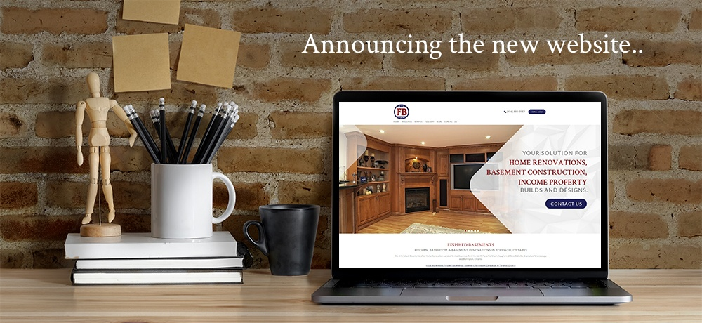 Announcing the New Website - Finished Basements