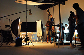 Setting the Studio - Business Video Production Services Chicago by Visual Filmworks