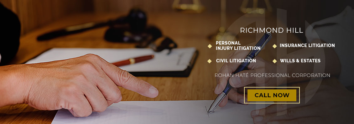 Personal Injury Lawyer Richmond Hill