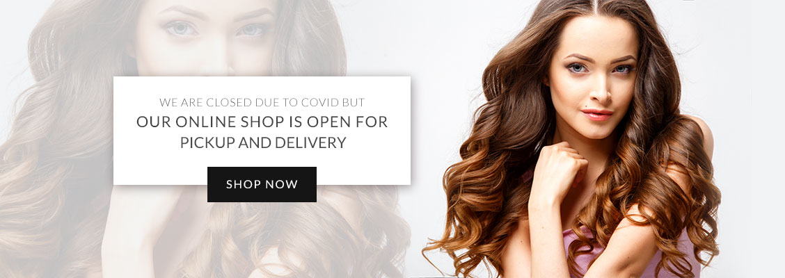 Our Online Shop is open for pickup and delivery - Top Hair Salon Toronto ON