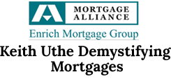 Keith Uthe Demystifying Mortgages Logo
