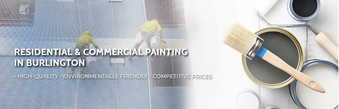 Residential & Commercial Painting in Burlington