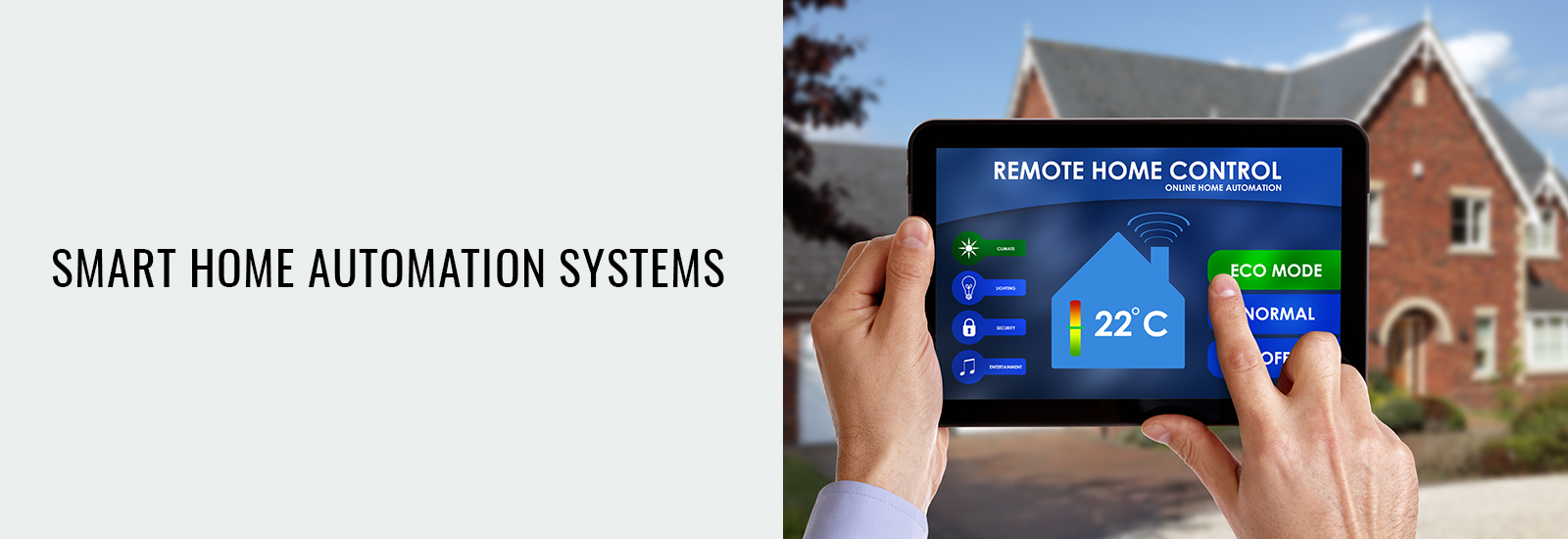 Smart Home Automation System At Maple Ridge BC- Sky Security Ltd.