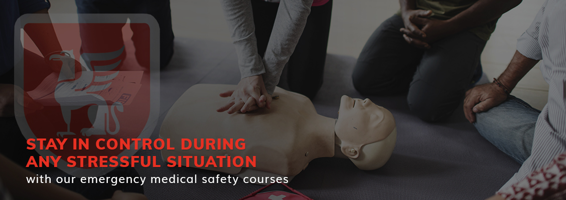 Stay in control during any stressful situation with our emergency medical safety courses