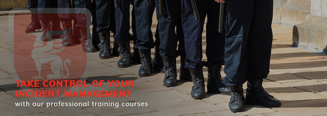 Take control of your incident management with our professional training courses