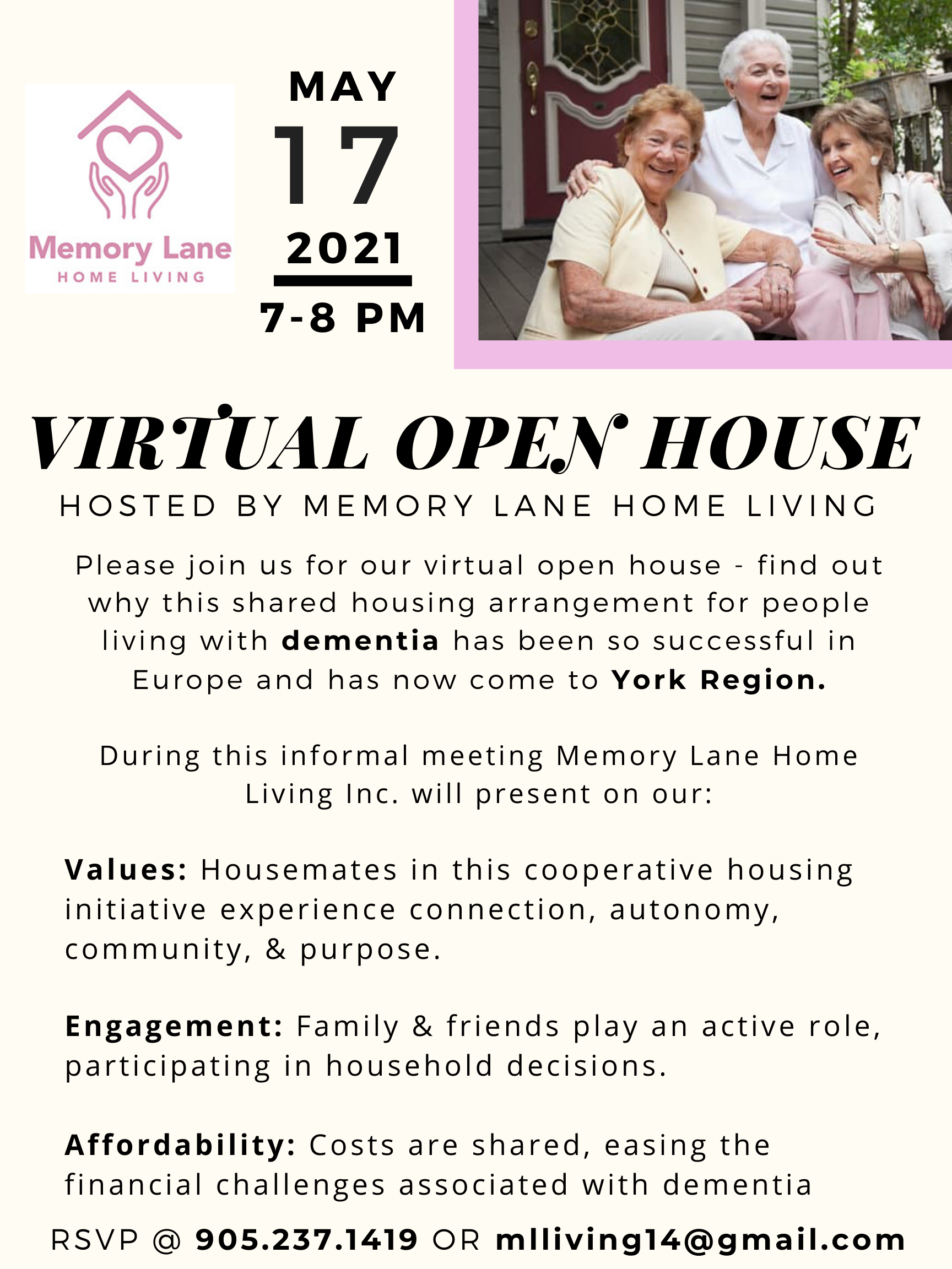 Memory Lane Home Living Inc.