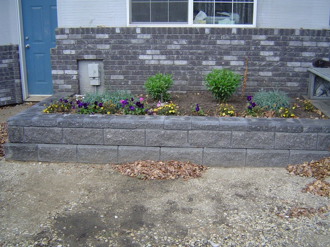 Softscaping Services Grande Prairie by Brick, Rock and Block Landscaping