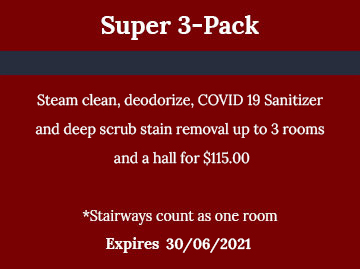 Super 3 Pack - Cleaning Services Atlanta by Preferred Carpet Cleaning and Floor Care