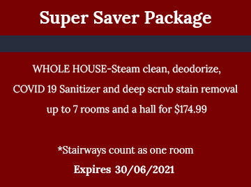 Super Saver Package by Preferred Carpet Cleaning and Floor Care