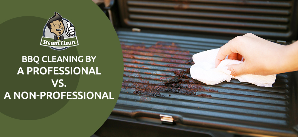 BBQ Cleaning By A Professional Vs A Non-Professional