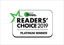 Times - Readers Choice Awards 2019 Platinum Winner - Carpet Masters