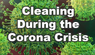 cleaning during the corona crisis