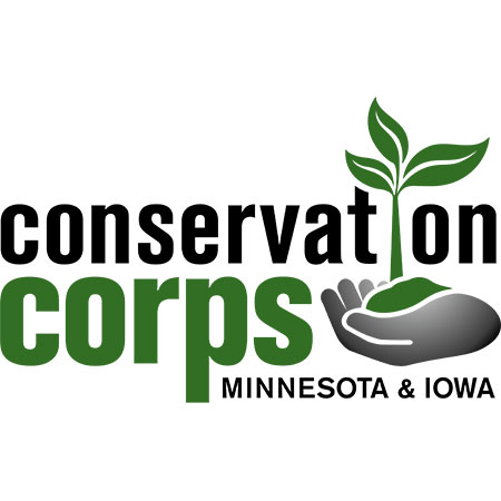 Conservation Corps MN IA logo
