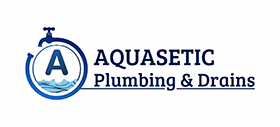 Aquasetic Plumbing & Drains Logo
