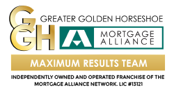 Mortgage Alliance Greater Golden Horseshoe Maximum Results Team Logo