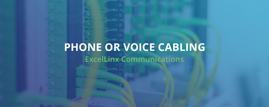Phone Or Voice Cabling ExcelLinx Communications Toronto