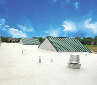 MBCI Standing-Seam Metal Roofing