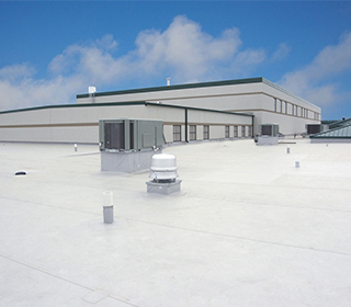 Single-ply PVC and TPO Flat Roofing