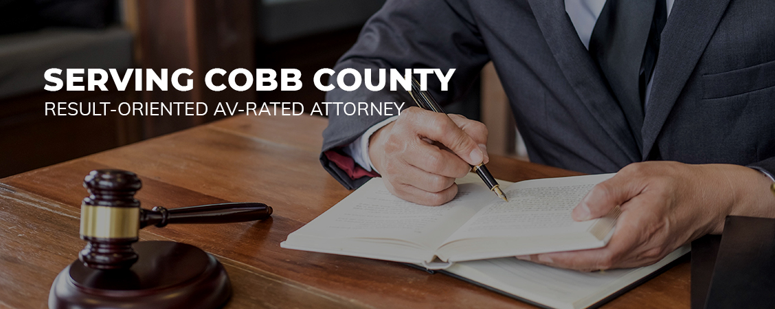 Result-Oriented AV-Rated Attorney Serving Cobb County