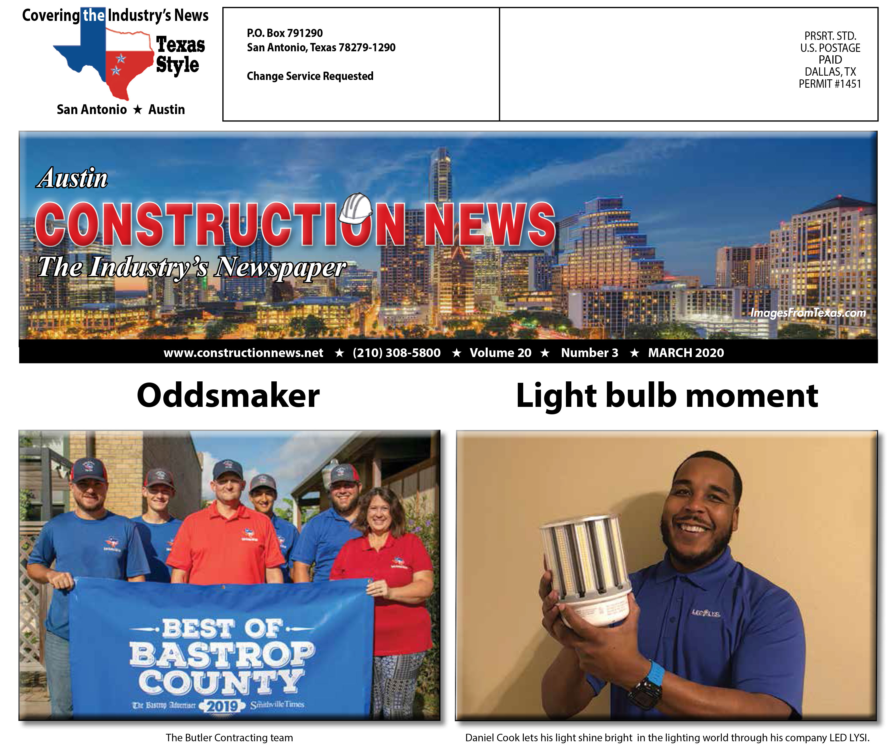 Austin Construction News, March 2020