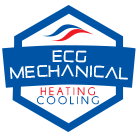 ECG Mechanical - Heating & Cooling Logo