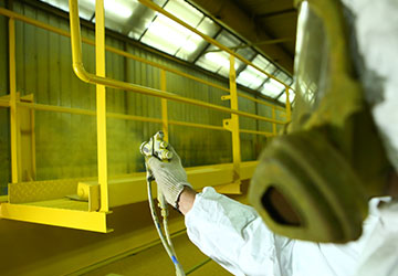 Shop Sandblasting and Paint Bays