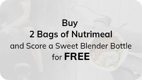 Buy 2 bags of Nutrimeal and score a sweet Blender Bottle for FREE