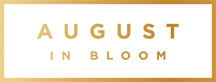 August In Bloom Logo