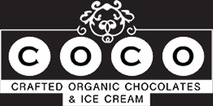 COCO Crafted Organic Chocolates Logo