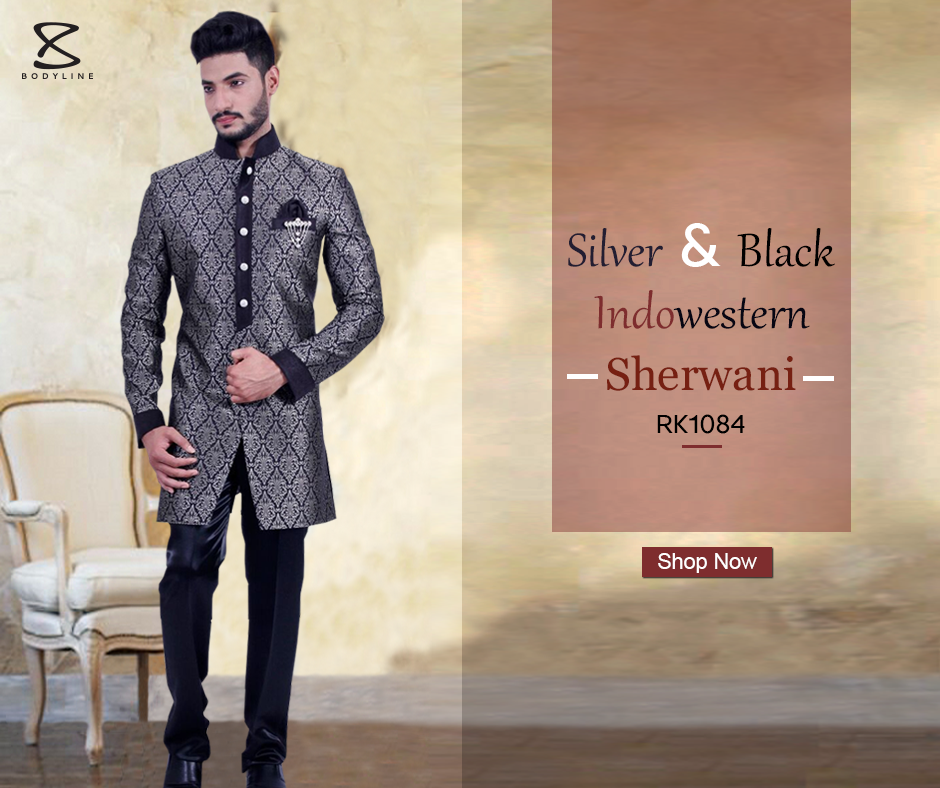 Buy Black Sherwani