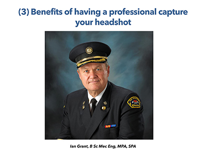 3 Benefits of Having a Professional Headshot Captured