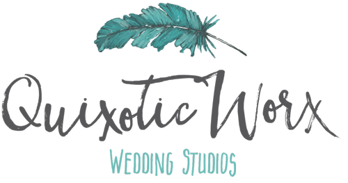 Quixotic Worx Wedding Studios Logo