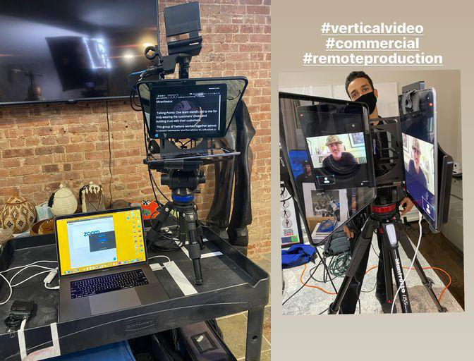 How a Ipad Teleprompter can enhance your Corporate Video