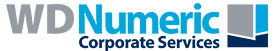 WD Numeric Corporate Services Logo