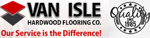 Van Isle Hardwood Flooring Co. Logo