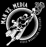 Man vs Media Logo