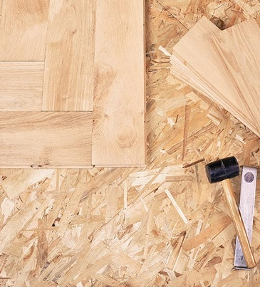 Unfinished Hardwood Flooring