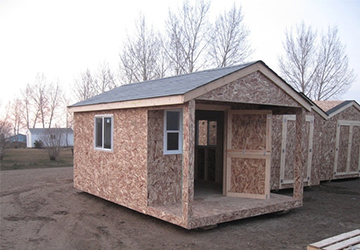Portable Shed in Jasper, Alberta