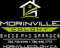 Morinville Colony Sheds Logo