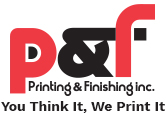Printing and Finishing Inc. Logo