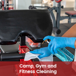 Camp, Gym and Fitness Cleaning