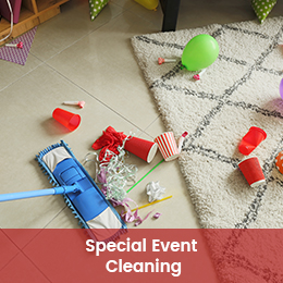 Special Event Cleaning
