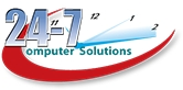 24-7 Computer Solutions Logo