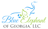 Blue Elephant Of Georgia Logo