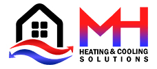 MH Heating and Cooling Solutions Logo